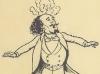 Marcel Legay par Fernand Fau dans « Un coin du Parnasse » d'Adolphe Brisson, 1898.