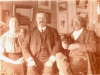 Marcel et Berthe Legay avec Ernest Berthet.